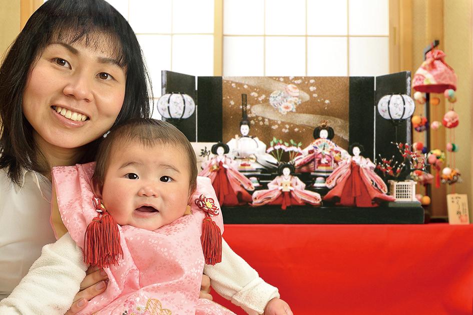 人形 青汀 あゆちゃん (墨田区) 健康で明るい子に育ってね