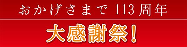 人形 青汀 おかげさまで113周年大感謝祭